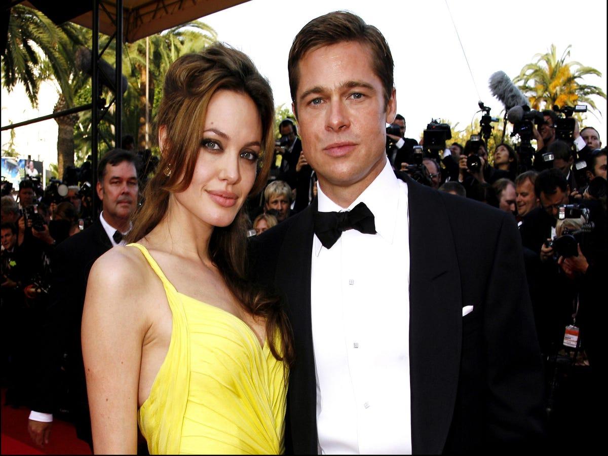 Angelina Jolie & Brad Pitt s Relationship, In Photos