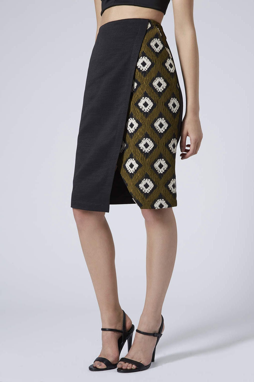 Slit Skirts For The Office - Pencil Shape
