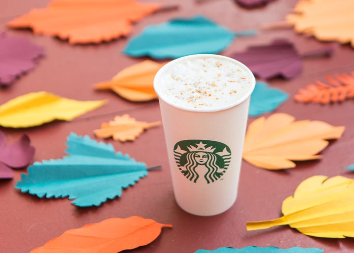 Starbucks' Maple Pecan Latte Is Your New Fall Obsession