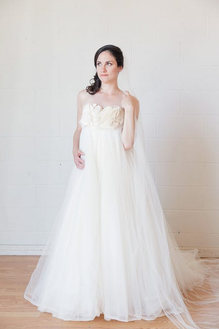 Amsale Tulle Gown Size 4 3900 Available At Borrowing Magnolia