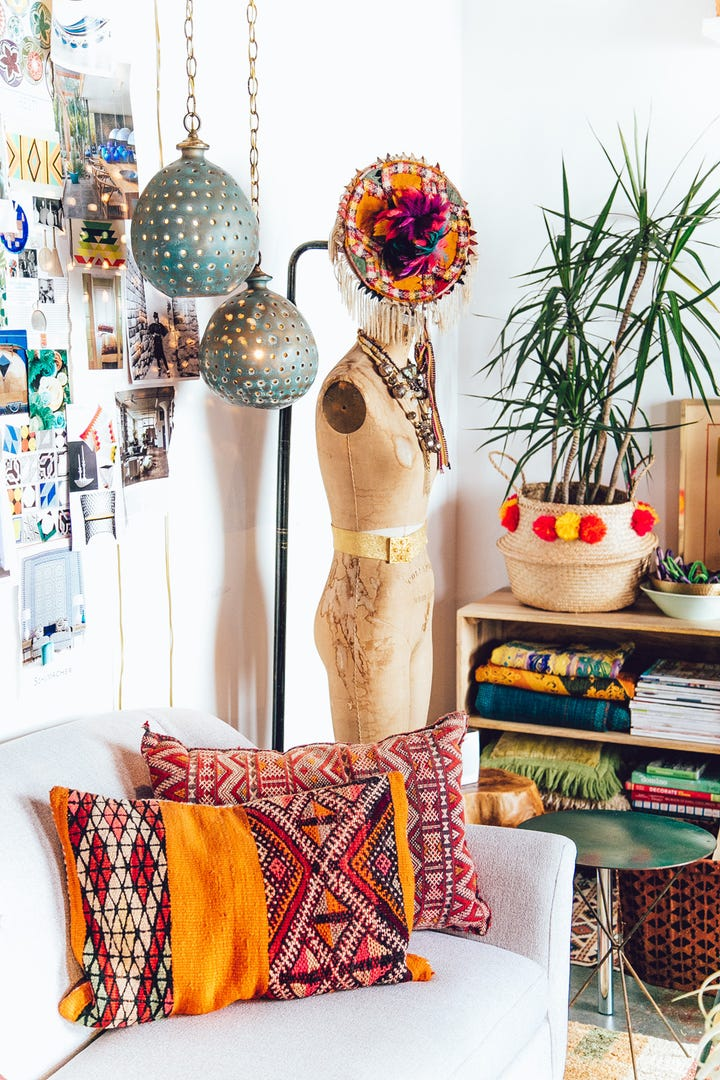 This Top Design Influencer Knows How To Do Boho — Without Looking Cheesy