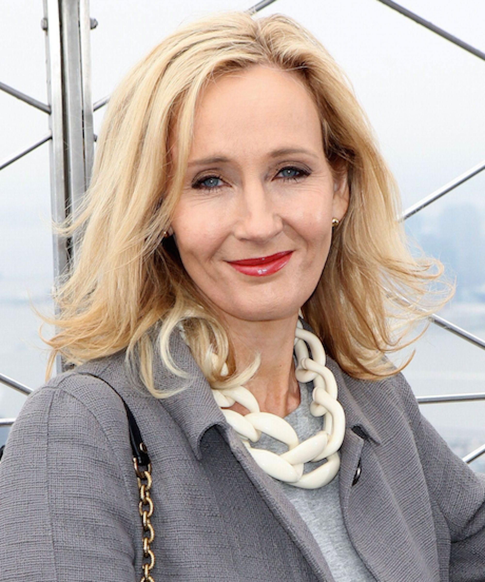 jk rowling shares harry potter rejection letters
