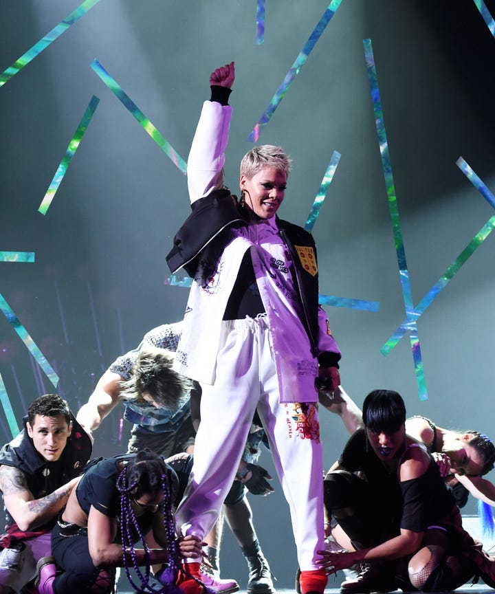 Super Bowl 2018: Pink slams people criticising her National Anthem Performance