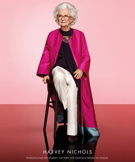 100-Year-Old Model To Appear In Vogue