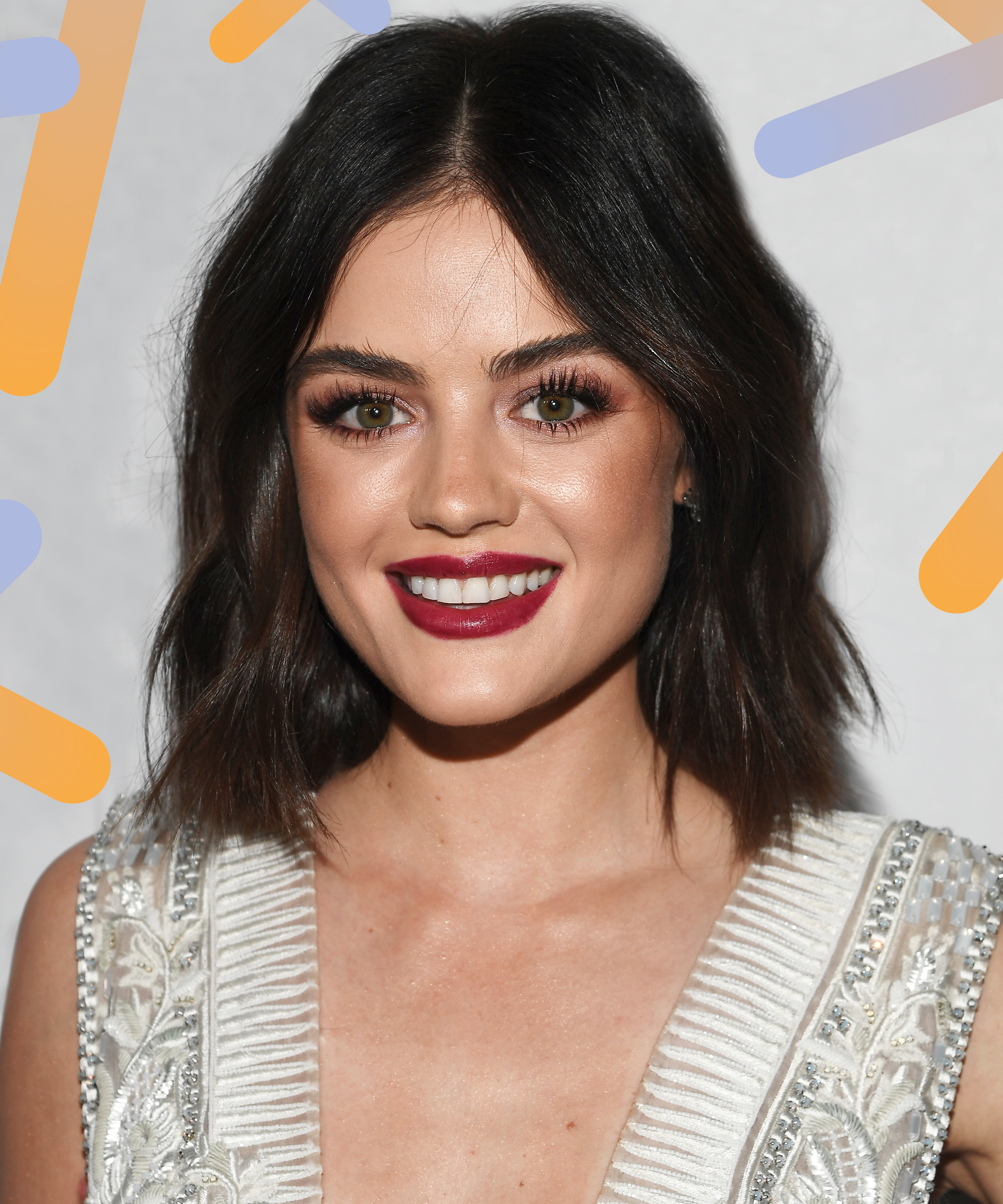 40 awesome short haircuts for curly hair sloe - Lucy Hale Just Changed Her Hair Again It S Shorter Than Ever