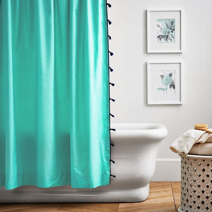 This Percale Cotton Curtain Looks Pretty Enough To Be Bedroom Decor.