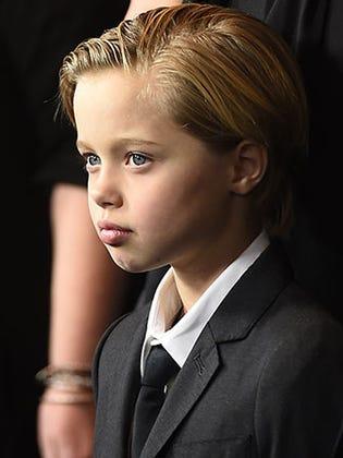 "Angelina Jolie & Brad Pitt Support Shiloh's Wish To Be Called ""John"""