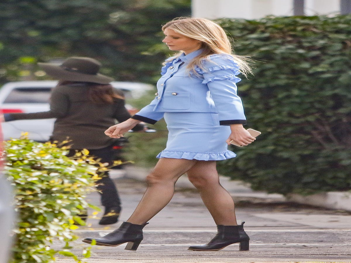 Gwyneth Paltrow s Unexpected Power Suit Is Giving Us LIFE