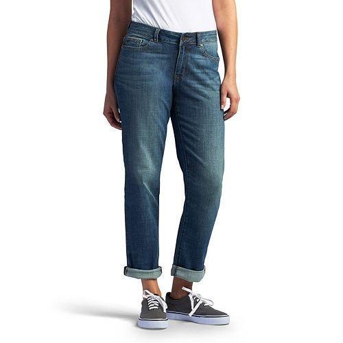 Petite Boyfriend Jeans - Baggy Pants Style Tips