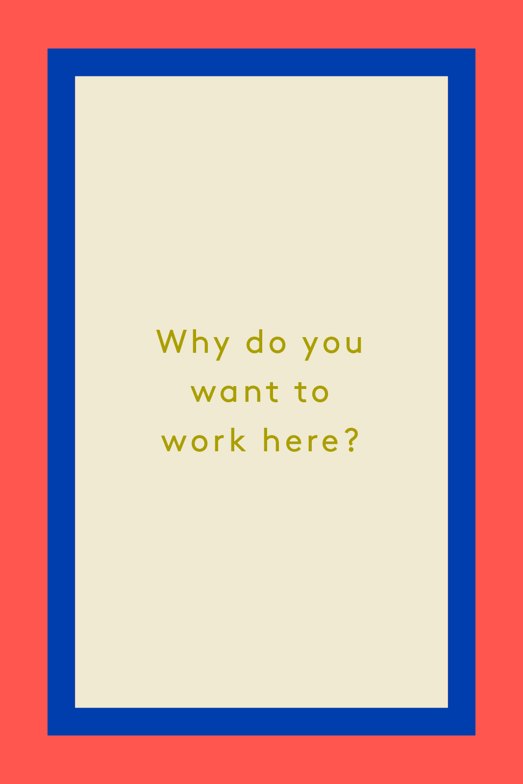 job interview questions and answers interviewing tips illustrated by abbie winters your answer to this question should
