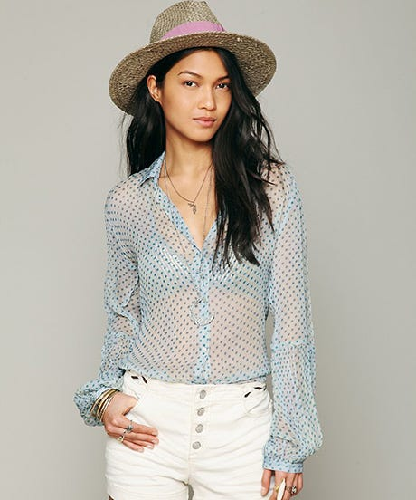 Dare To Go Sheer This Fall With These 10 So-Chic Pieces
