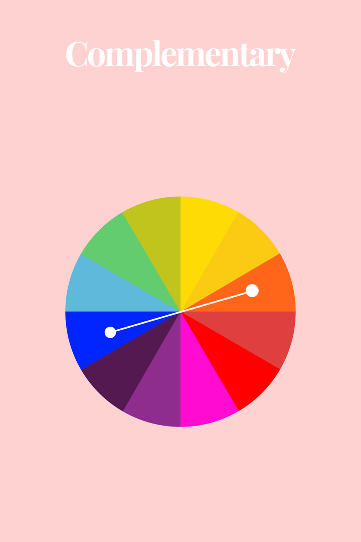 Complementary Color Of Pink what is color theory, color wheel cool outfits