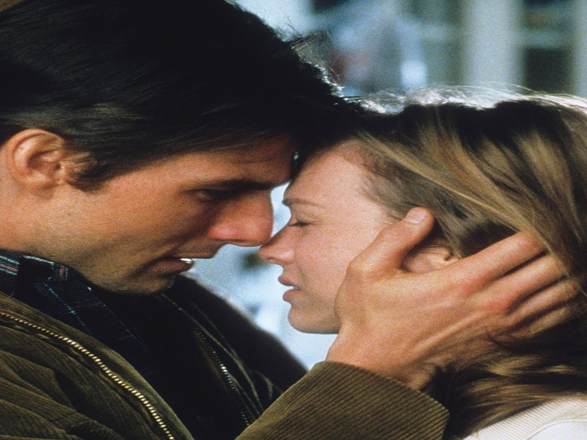 Exclusive: How Tom Cruise Made This Iconic Jerry Maguire Scene A Reality