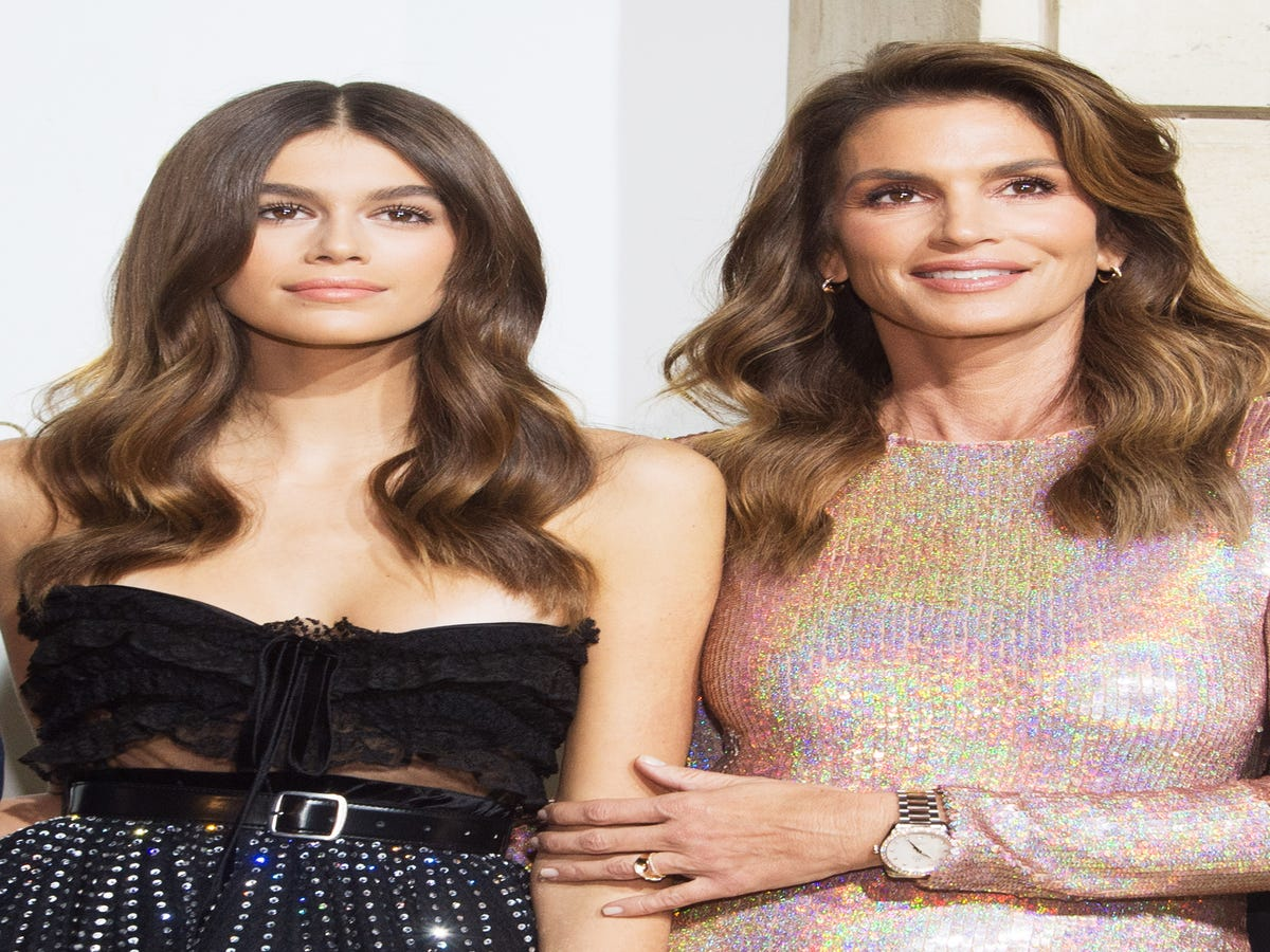 The Internet Can't Tell Kaia Gerber & Cindy Crawford Apart