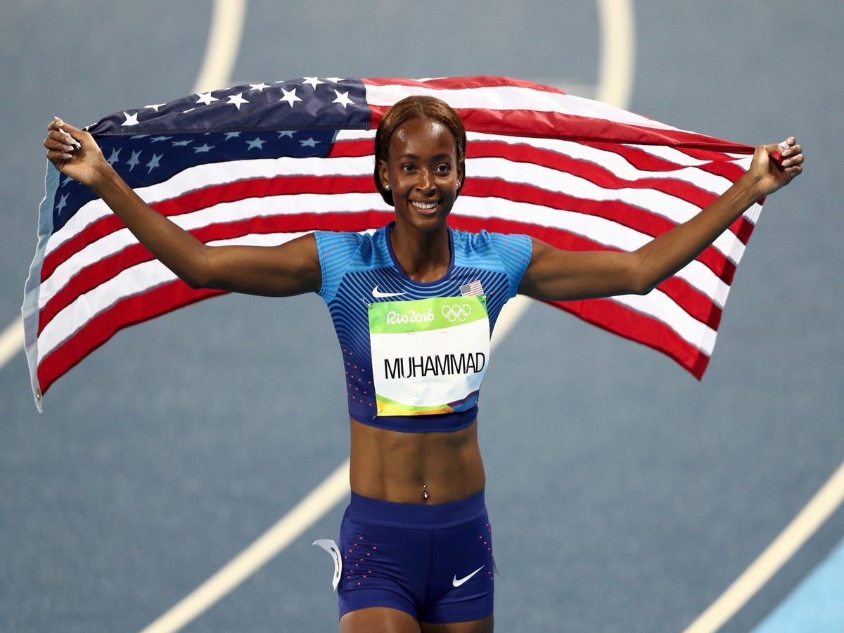 Dalilah Muhammad Becomes First U.S. Woman To Win 400M Hurdles Gold
