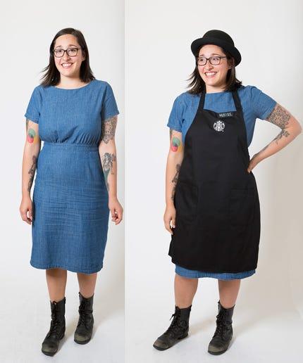 Starbucks New Dress Code - Jeans Hair Shirt Colors