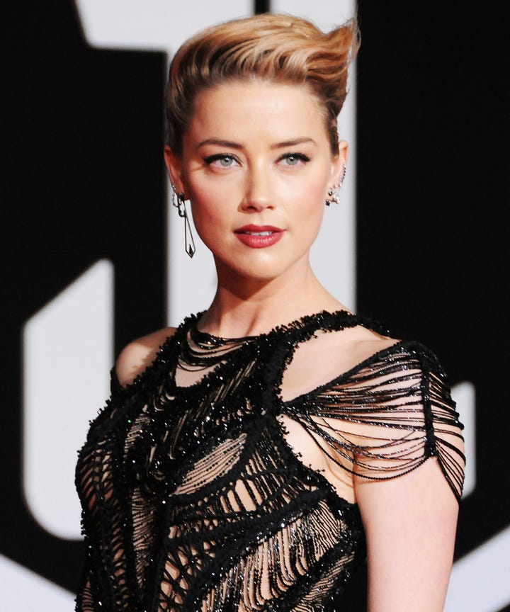 Amber Heard was told coming out as bisexual would ruin her career