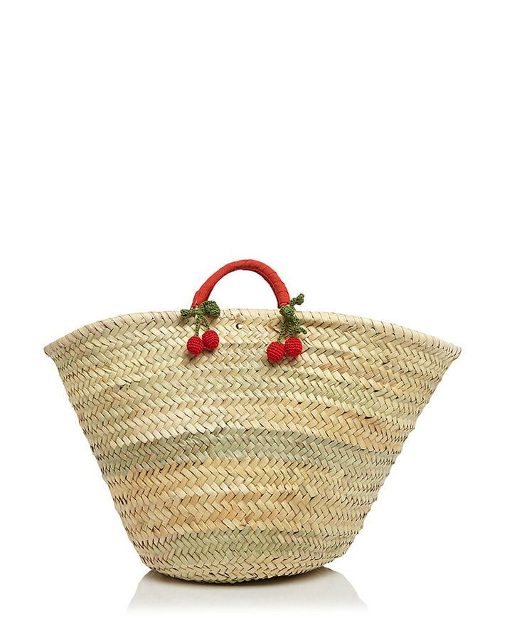 Beach Tote Bags - Straw Totes