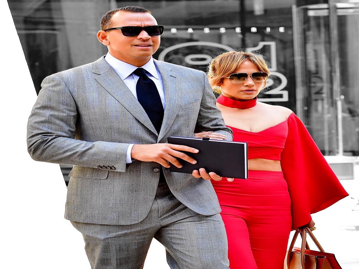 Jennifer Lopez & Alex Rodriguez Met The Old-Fashioned Way
