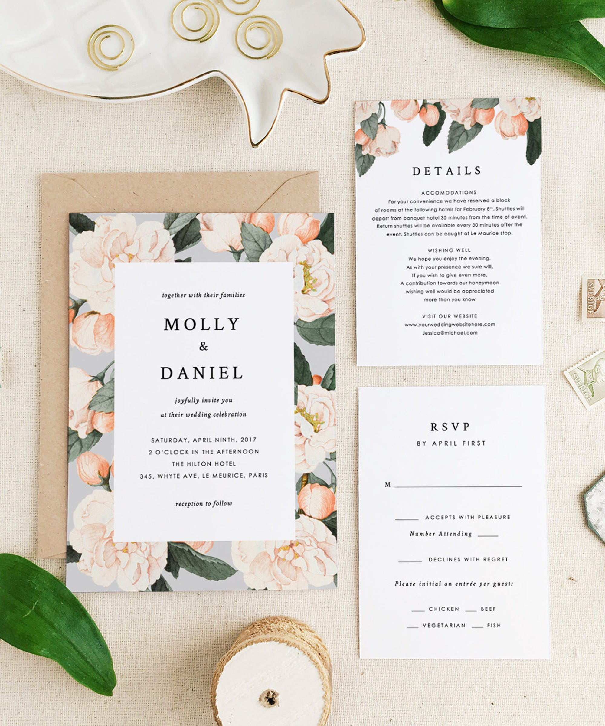Best etsy wedding invites stationery invitations design monicamarmolfo Choice Image