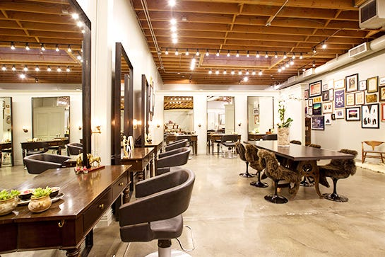 How do you find the closest hair salon?