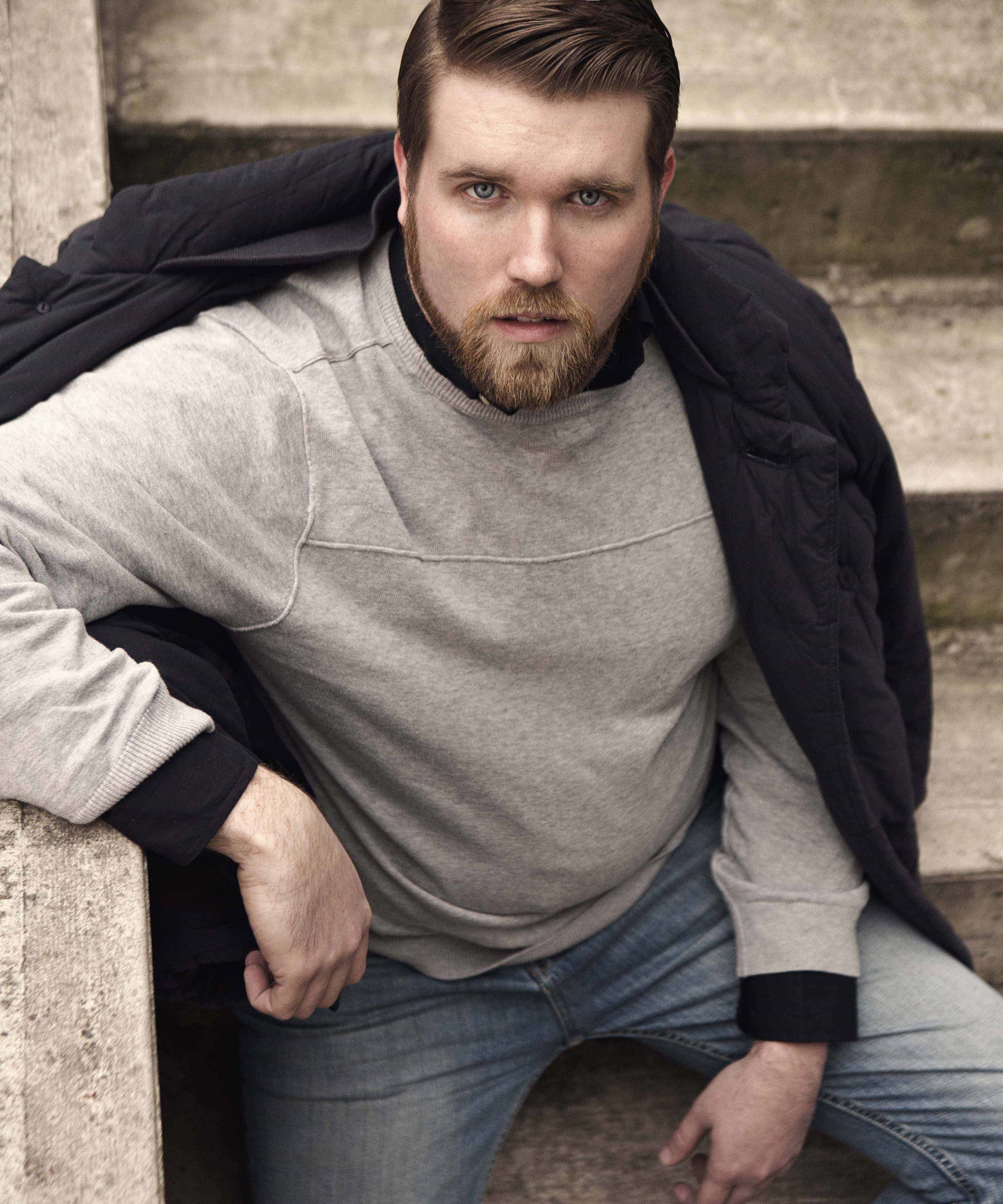 This Plussize Male Model Understands Body Positivity