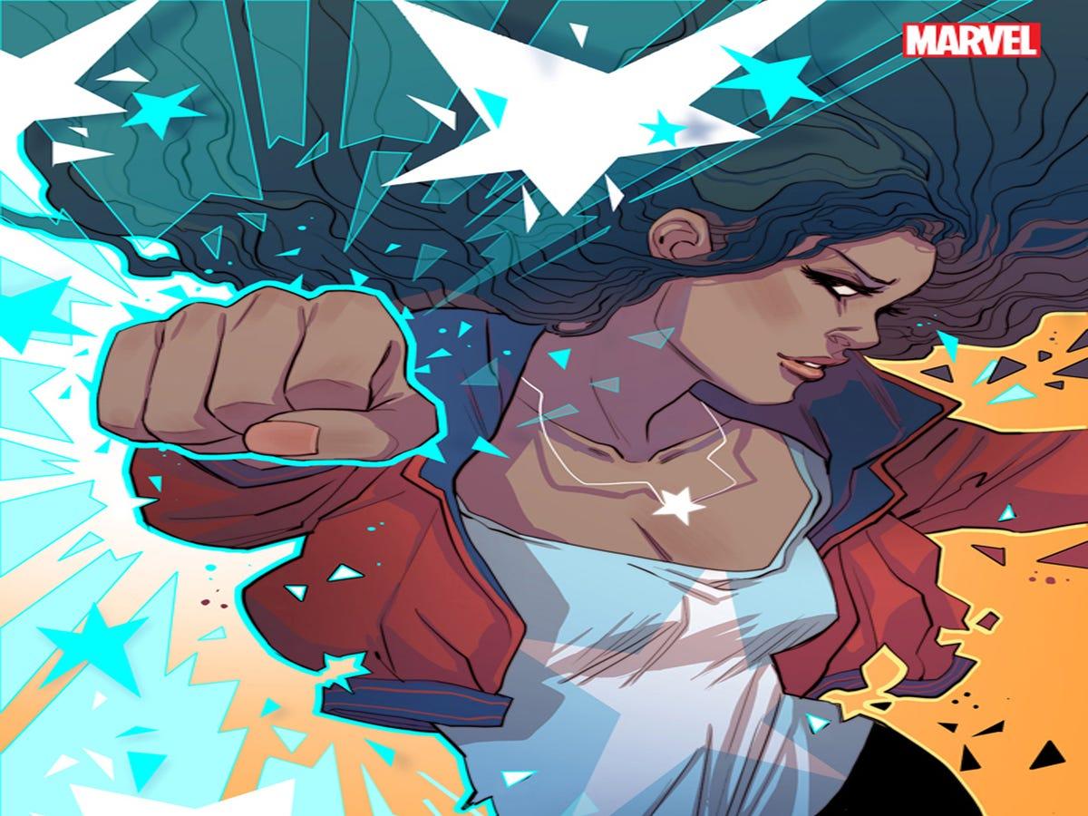 Exclusive: The Scoop On America, Marvel s New Queer Latina Superhero Series