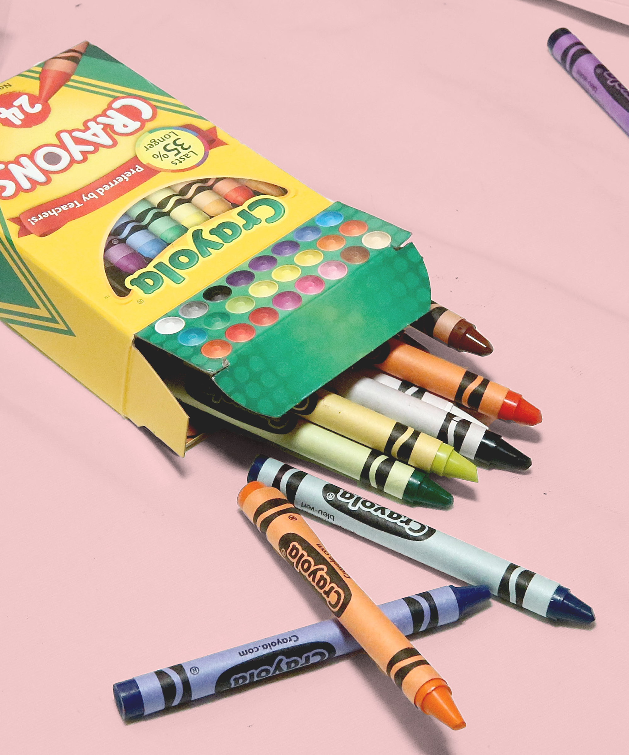 Crayola Set to Retire Crayon Color