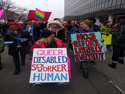 Articles  Why It Matters That Sex Workers Were At The Women's March In D.C.