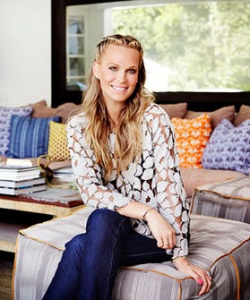Not Surprising: Molly Sims' Home Is Decor Eye Candy