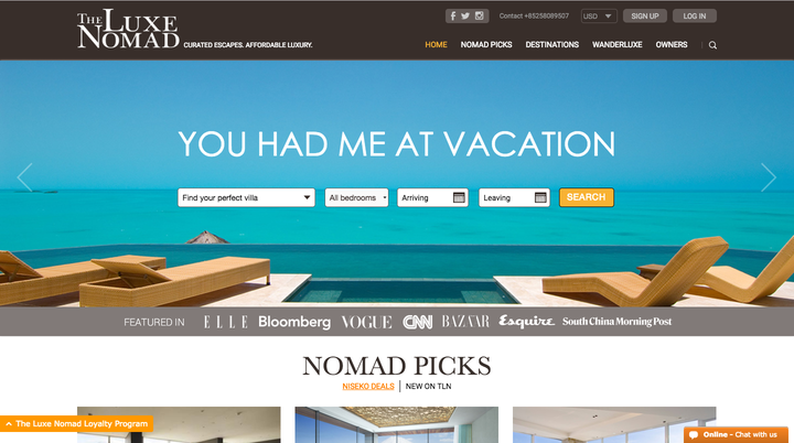 The Luxe Nomad. Best Travel Sites   Where To Find Cheap Vacation Deals