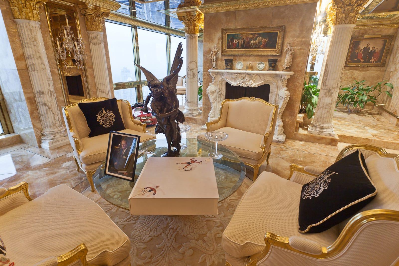 donald trump tower home tour u2013 melania trump interview