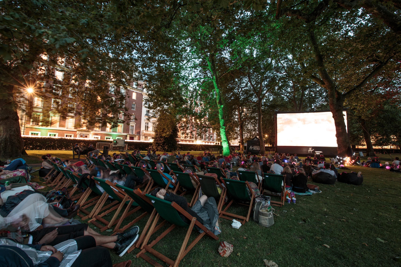 Unusual Cinemas London UK - Outdoor Cinema