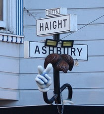Haight-Ashbury Intersection San Francisco