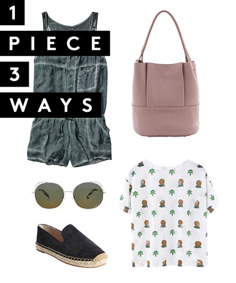 3 Fresh Outfits For Your Favorite T-Shirt