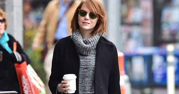 Emma Stone's Guide To New York Style