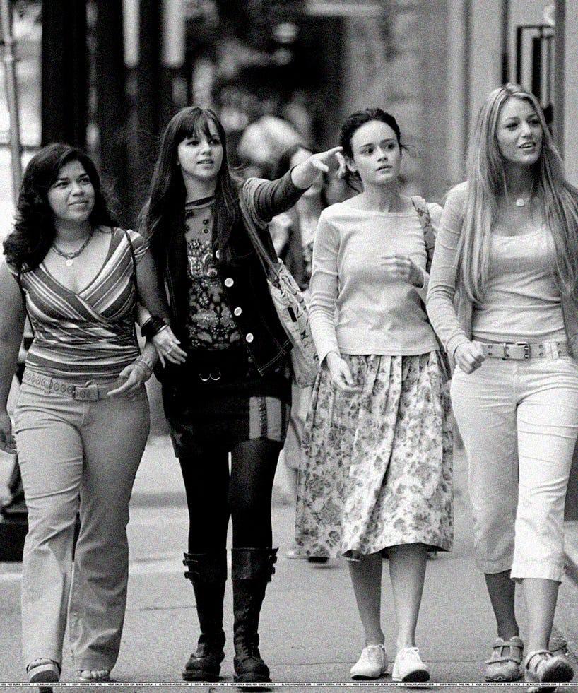 Sisterhood Of The Traveling Pants Characters Friends