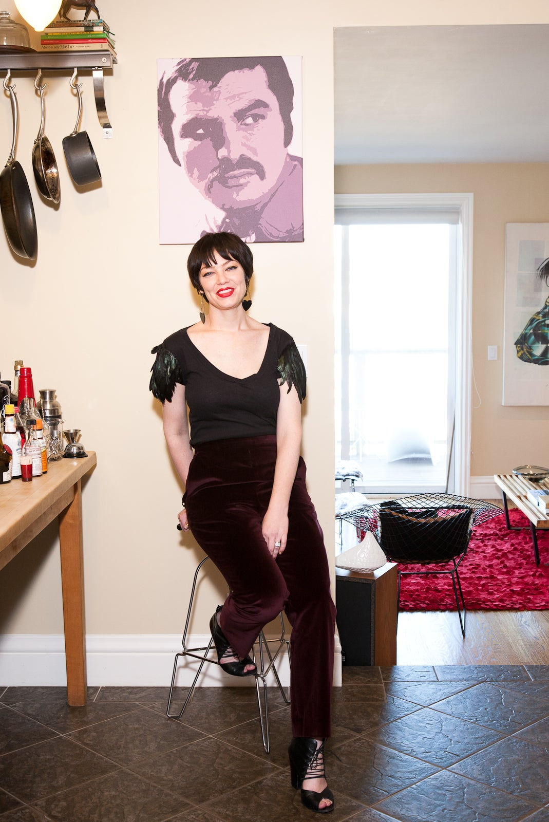Inside the quirky cool digs of one of s f s master sketch artists