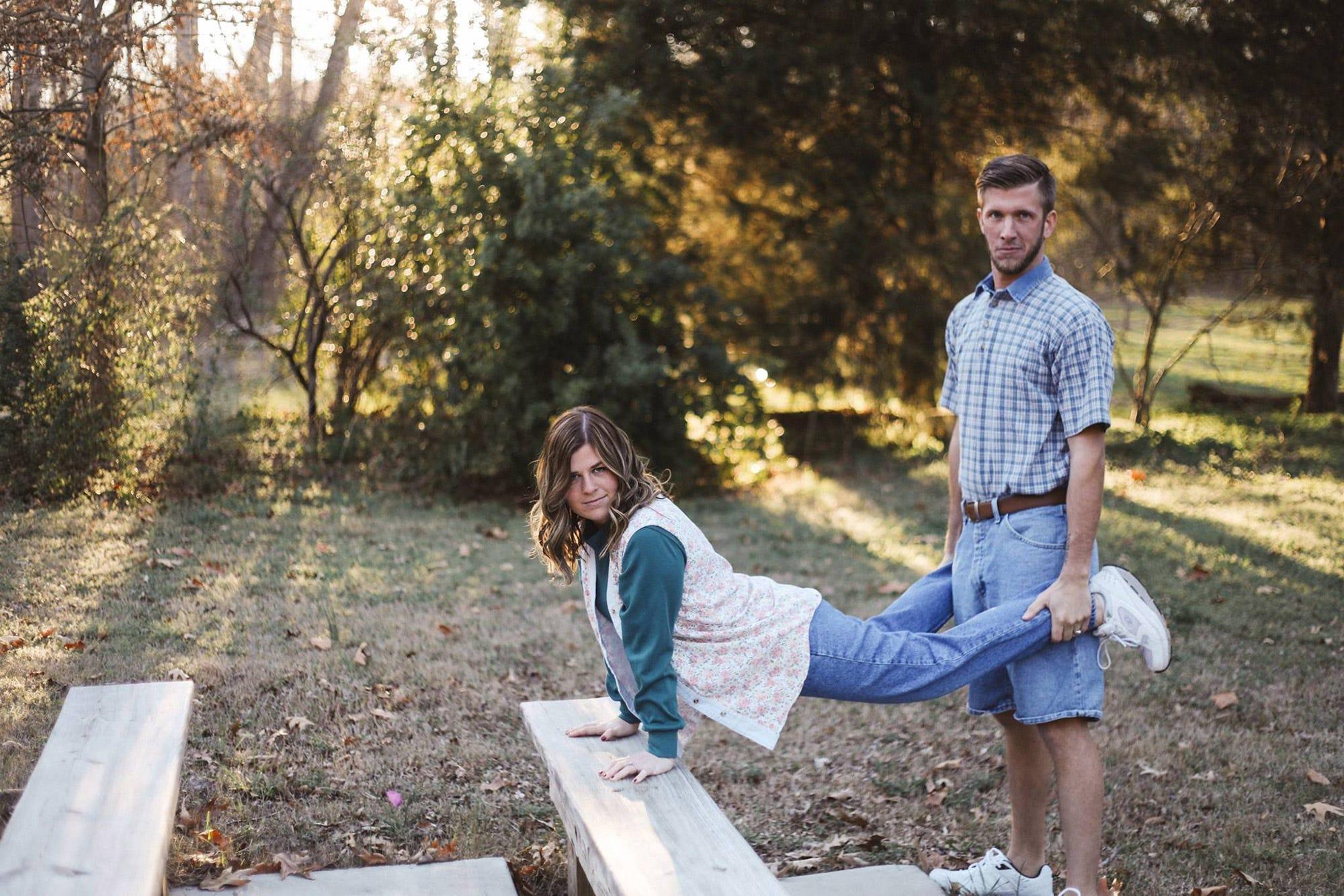Dorky Masterminds Inspired Engagement Photos