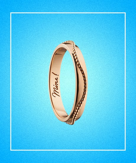 Simple Engagement Rings Dainty Jewelry Metal Bands