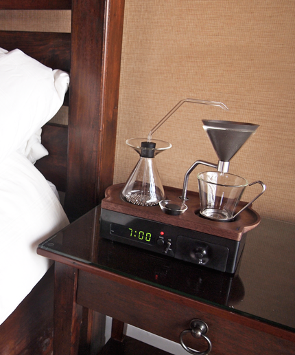 Coffee Alarm Clock Kickstarter Campaign