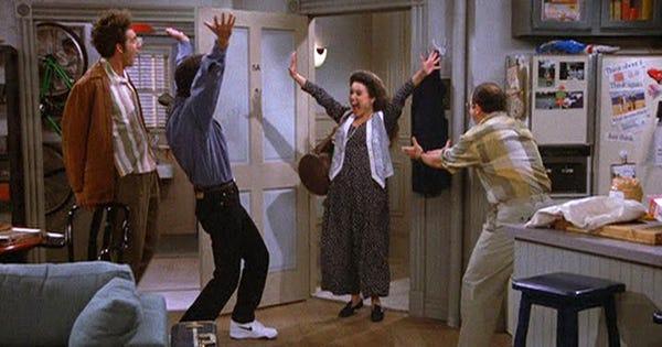 Seinfeld Apartment New York City Hulu
