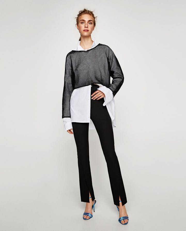 Zara New Collection Fall 2017 Leggings Trend