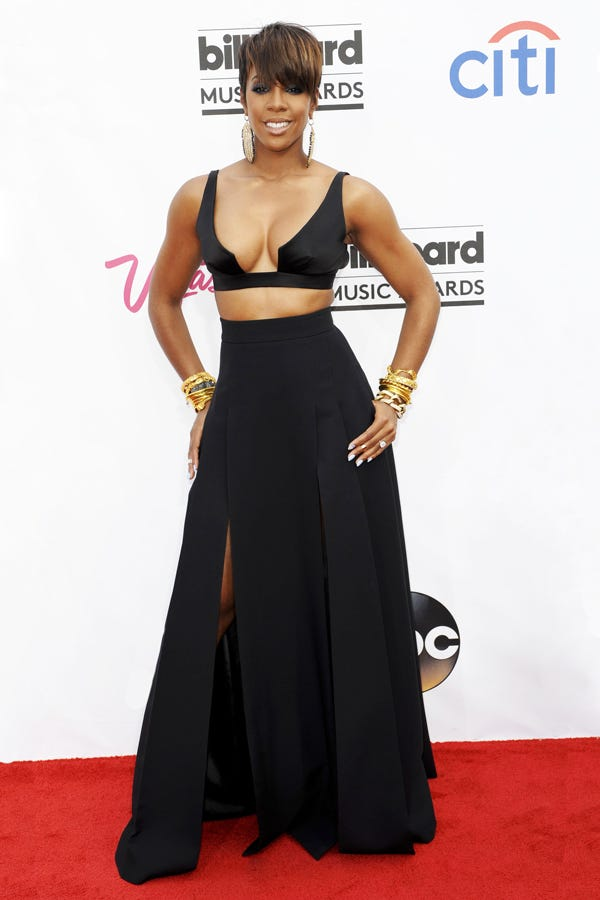 Nicki Minaj Vs. Kelly Rowland: A Red-Carpet Bra Showdown