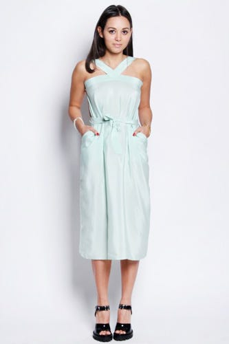 Samantha Pleet Eternal Dress, $390, available at American Two Shot .