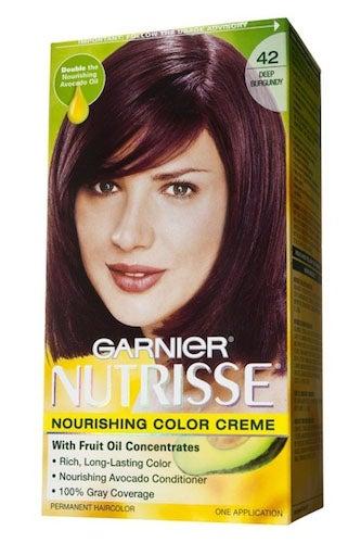 Black Cherry Deep Burgundy Hair Color