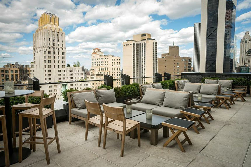 The Roof At Viceroy New York Hotel 2014