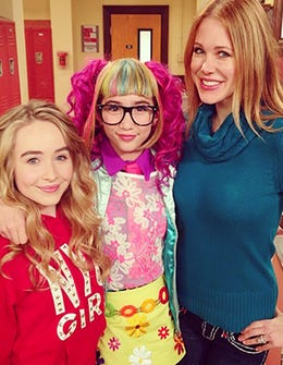 On Set With Girl Meets World