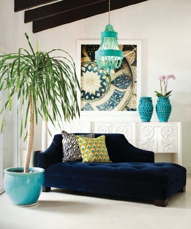 Home Decorating Blog Prepossessing With Navy Blue and Turquoise Living Room Images