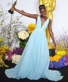 We Catch Lupita Nyong'o Just Seconds After Her Big Win!